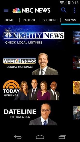 美国国家广播公司新闻频道