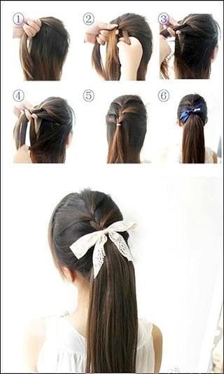 时尚发型设计教程 - 美发沙龙