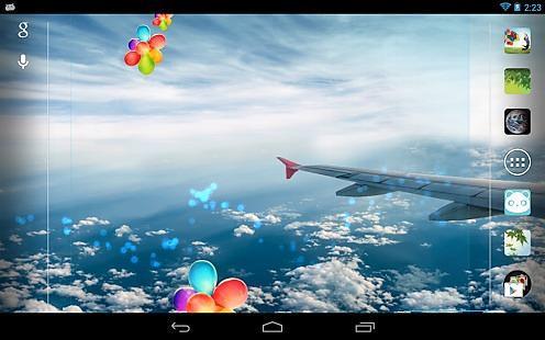 Galaxy S4 天空动态壁纸