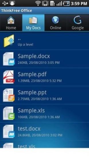 移动办公室ThinkFree Office Mobile Viewer