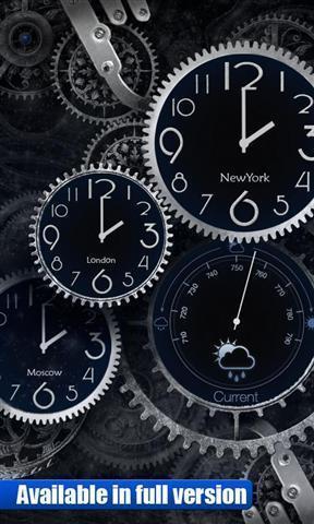 时钟动态壁纸