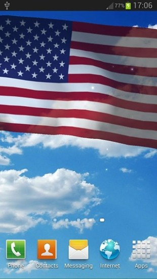 美国国旗动态壁纸