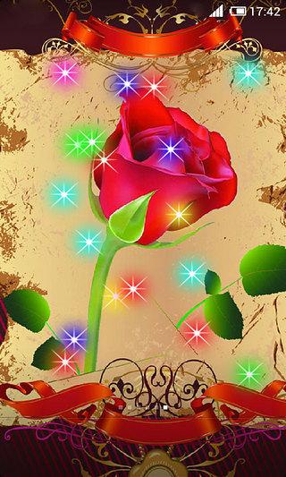 玫瑰花动态壁纸
