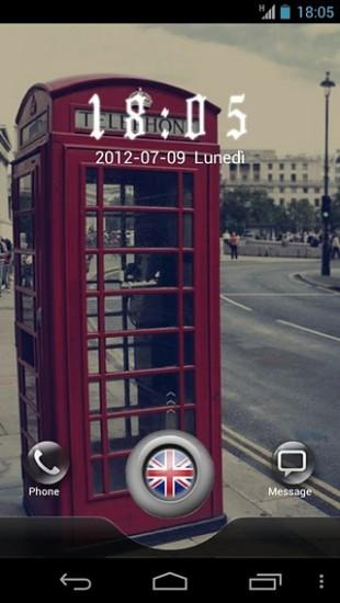 London GO Locker Theme