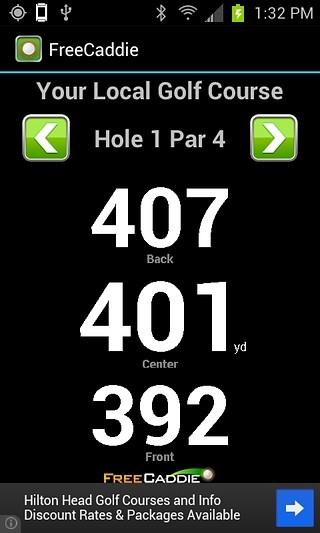 FreeCaddie Golf GPS