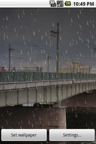 Rain Live Demo