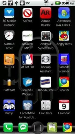 ADW主题包:苹果手机