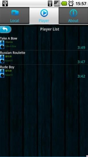 音乐播放器 Music Player