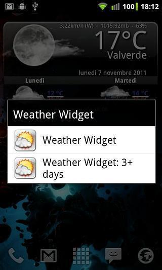 Animated Weather Widget, Clock For Android | AppsApk