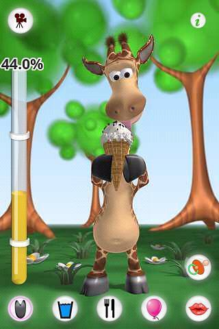 会说话的长颈鹿,吉娜