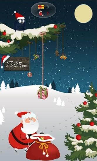 GO锁屏圣诞老人主题