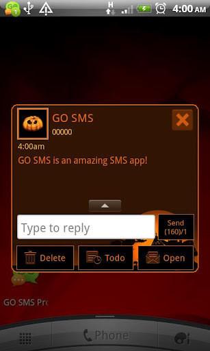 GO短信—万圣节主题