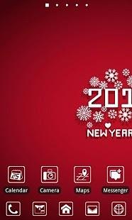 New Year Theme GO Launcher EX