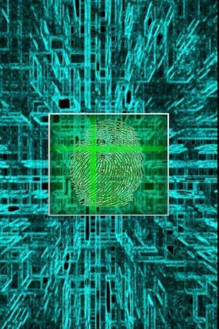 FingerPrint Screensaver