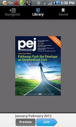 Physician Executive Journal PEJ