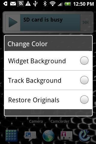 dxTop Music Widget