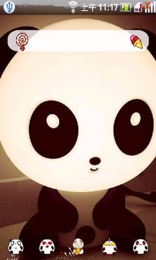 熊猫宝贝--桌面主题