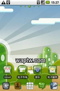 GO桌面-马里奥主题V1.0 Android2.0+