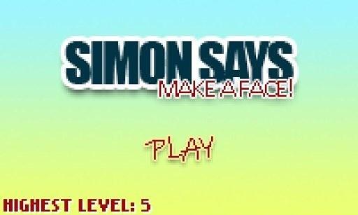 Simon says: Make a face