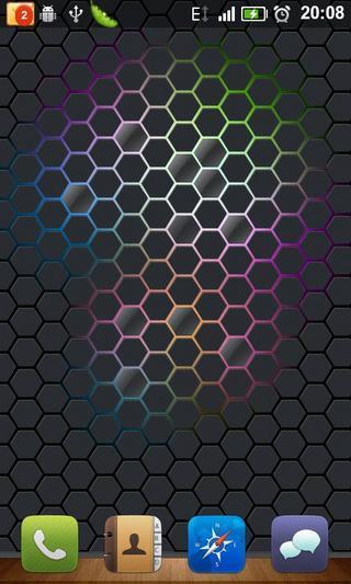 蜂巢神经网络壁纸