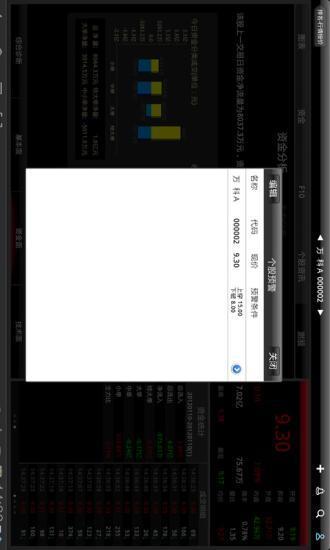 华股财经HD 平板炒股票