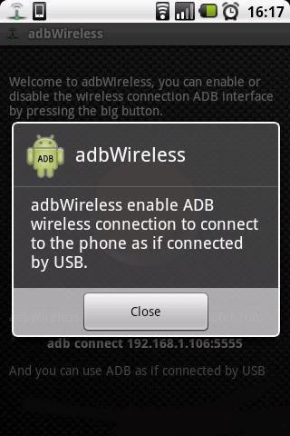 无线使用ADB