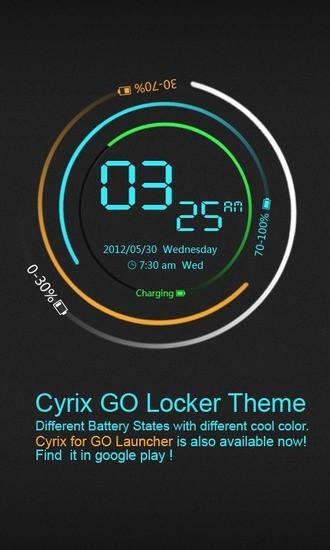 GO桌面锁屏-CYRix主题