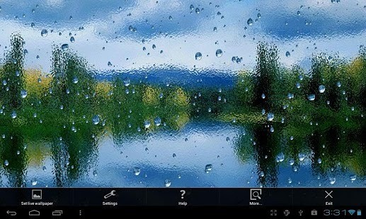 安卓雨滴动态壁纸