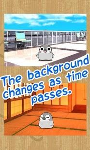 动态企鹅桌面时钟