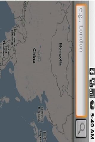 离线手机地图bigplanet