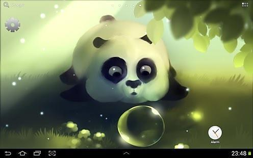 熊猫噗通动态壁纸精简版