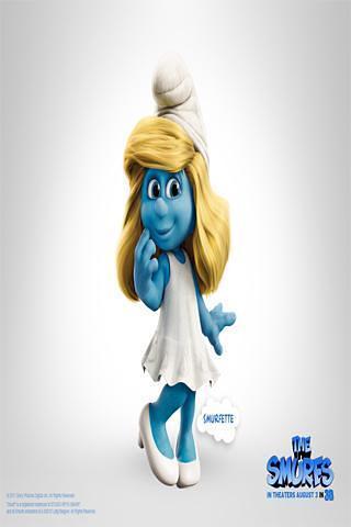 蓝精灵精美壁纸 The Smurfs Wallpapers
