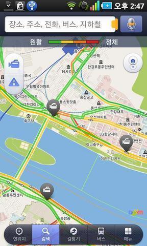 Daum地图