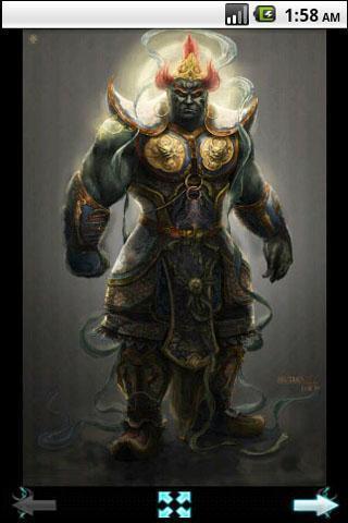佛陀与鬼神