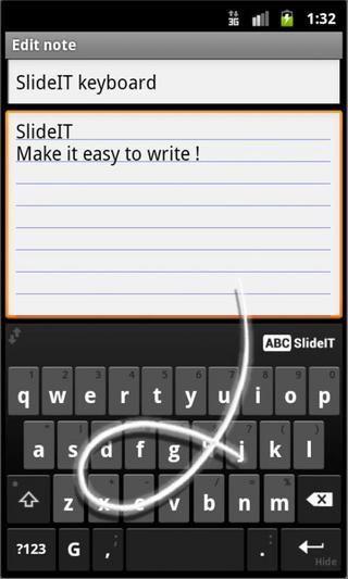 SlideIT Android ICS keyboard skin