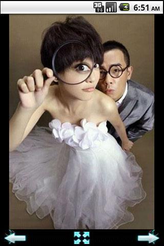 有趣的婚纱摄影