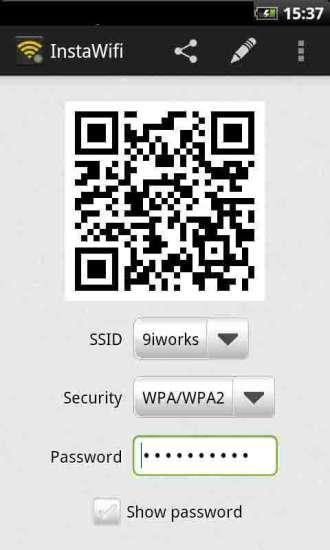 二维码共享Wifi