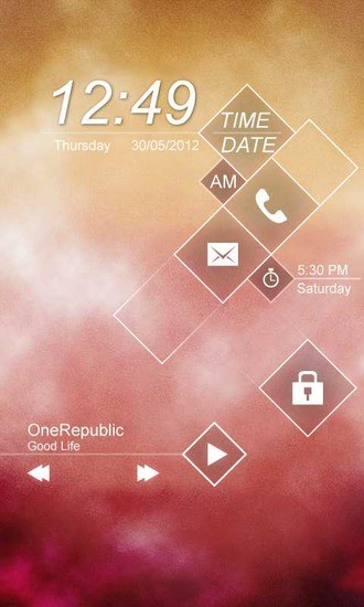 GO锁屏-雾解锁主题