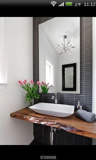 创意家居装修设计之洗手台