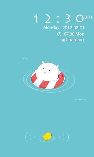 GO锁屏-夏日泳池