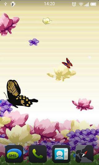 玩免費工具APP|下載浪漫蝴蝶动态壁纸 app不用錢|硬是要APP