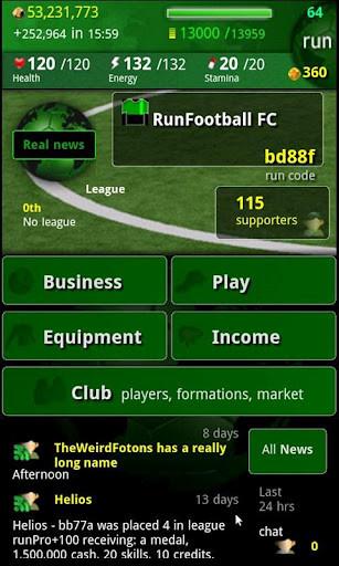 runFootball