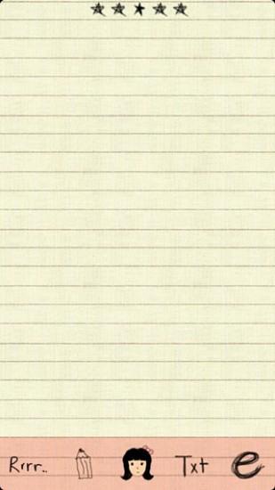 GO主题—手绘纸张