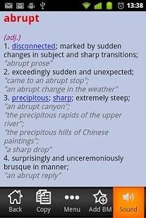 发声英汉辞典