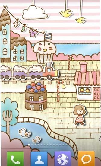 糖果商店动态壁纸