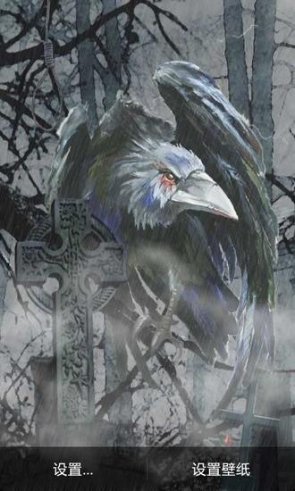 乌鸦墓地动态壁纸