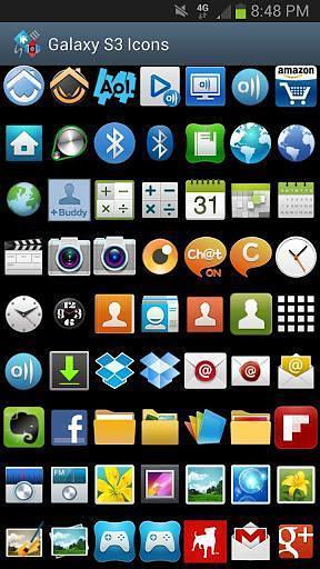 Galaxy S3主题