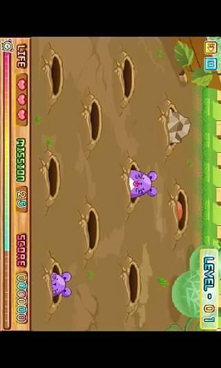 动作小游戏打地鼠