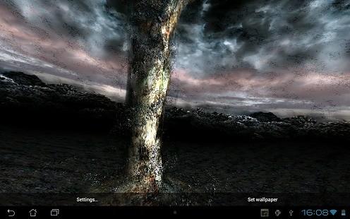 龙卷风动态壁纸 Tornado 3D