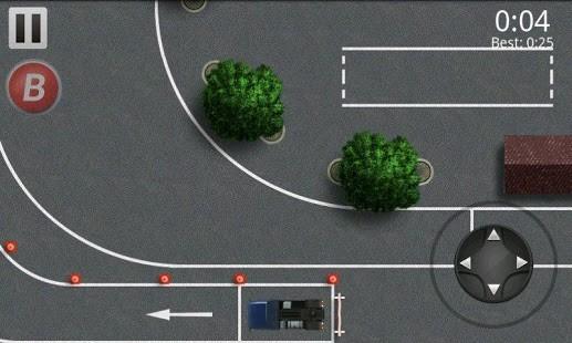 停车场货车